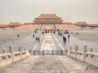The palace city in Beijing, China demonstrating clearly what a grand scale of design really looks like.