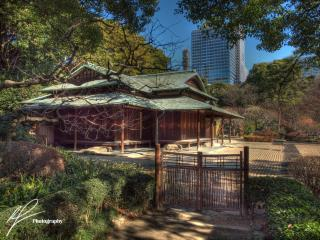 This is a quaint traditional Japanese structure we found inside the grounds of the Imperial Palace in Tokyo, Japan.