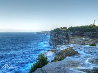 A nice shot of the Vaucluse headland near the lighthouse, north of Christison Park.